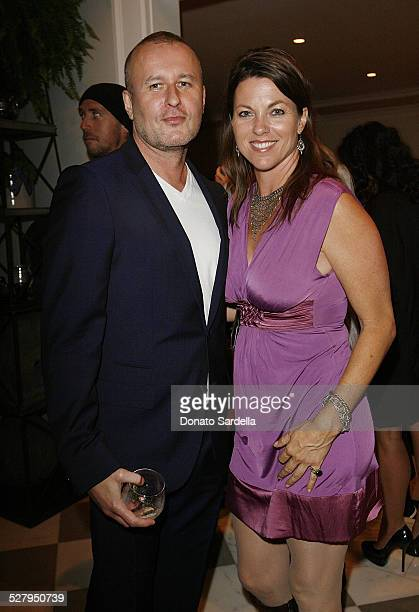 Brian Leitch and Patricia Sill attend Gucci and Windsor Smith Honor Dr James Orbinski and Dignitas International at a Private Residence on September...