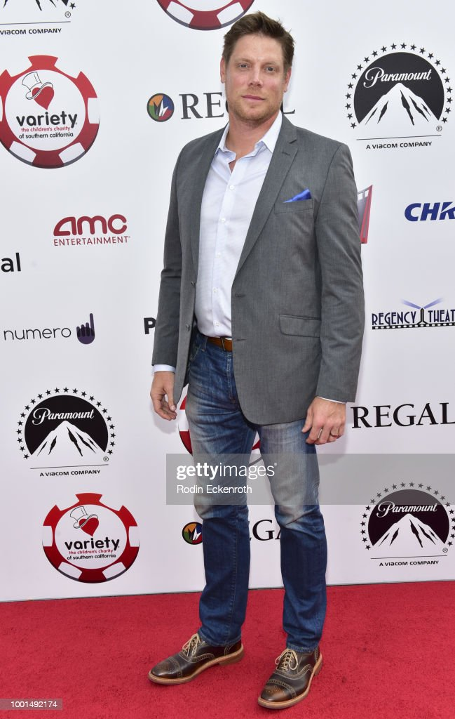 Brian Letscher attends the 8th Annual Variety Children's Charity of SoCal Texas Hold 'Em Poker Tournament at Paramount Studios on July 18, 2018 in Los Angeles, California.