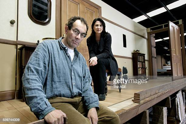 Brian Lipson writer of The Appartments of Sigmund Freud is the lead role with Pamela Rabe costarring in the production for the Melbourne Festival...