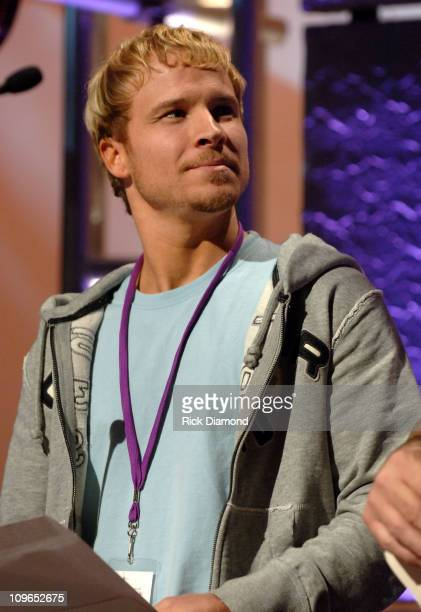 Brian Littrell during 37th Annual GMA Music Awards Rehearsals at Grand Ole Opry in Nashville TN United States
