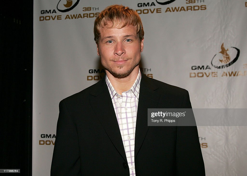 38th Annual GMA DOVE Awards - Press Room : News Photo
