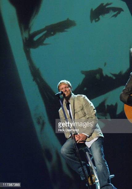 Brian Littrell during 38th Annual GMA DOVE Awards - Show at Grand Old Opry in Nashville, Tennessee, United States.