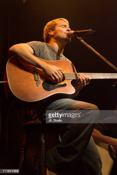 Brian Littrell during Brian Littrell Special Live Performance for his Japanese Fans at Shibuaya OEast July 10 2006 at Shibuya OEast in Tokyo Japan
