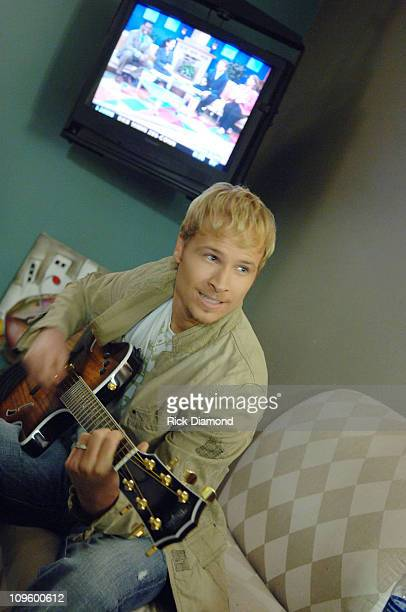 Brian Littrell during Brian Littrell Visits Good Morning Atlanta To Promote His Album Welcome Home May 2 2006 at FOX 5 Studios in Atlanta Georgia...