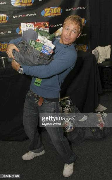 Brian Littrell during Z100's Zootopia 2005 On 3 Productions Gift Lounge at Continental Airlines Arena in East Rutherford New Jersey United States