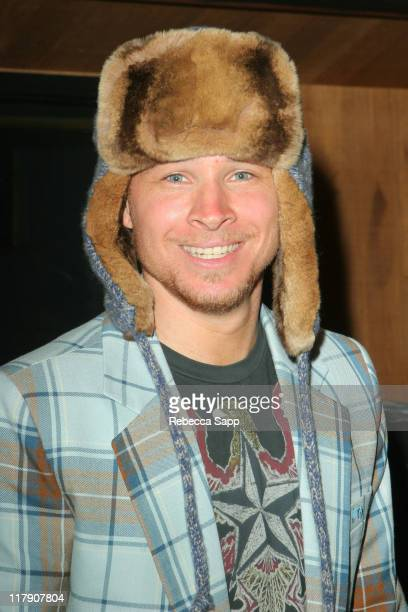 Brian Littrell in Stetson hat during The 49th Annual GRAMMY Awards GRAMMY Style Studio 2007 Day 3 at Ocean Way Recording Studios in Los Angeles...
