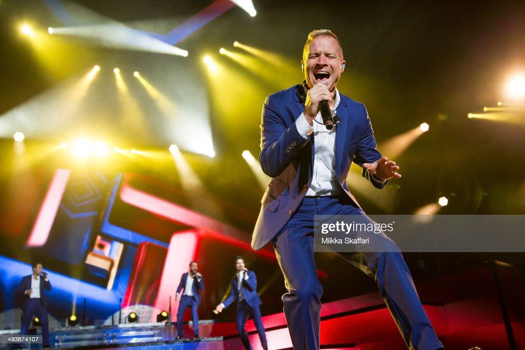 Backstreet Boys In Concert - Mountain View, CA : News Photo