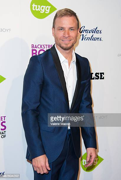 """Brian Littrell of Backstreet Boys arrives at the Premiere Of Gravitas Ventures' """"Backstreet Boys: Show 'Em What You're Made Of"""" at ArcLight Cinemas..."""