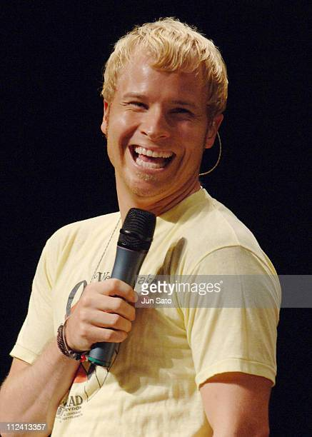 Brian Littrell of Backstreet Boys during Backstreet Boys Never Gone Launch Party at Stellar Ball in Tokyo Japan