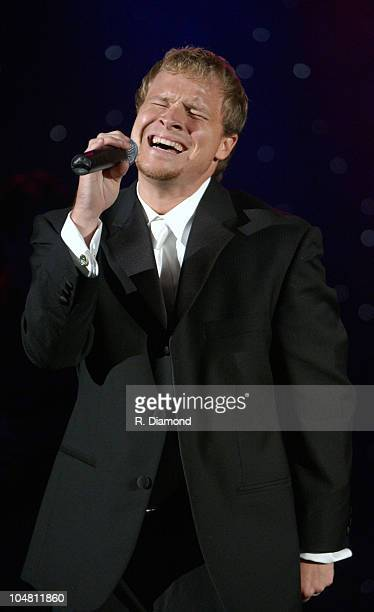 Brian Littrell of Backstreet Boys during The Recording Academy presents The 2003 Atlanta Heroes Awards at Westin Peachtree Plaza in Atlanta Georgia...