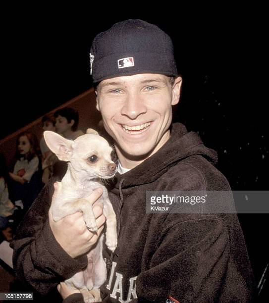 Brian Littrell of Backstreet Boys during VH1 Storytellers Backstreet Boys in New York City New York United States