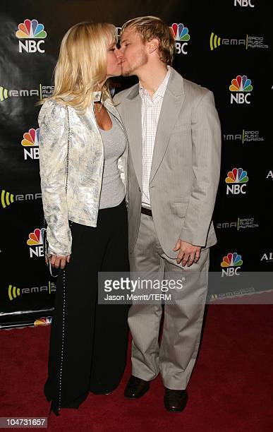 Brian Littrell of the Backstreet Boys and wife Leighanne Littrell