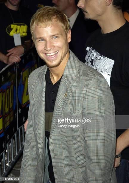 Brian Littrell of The Backstreet Boys during Backstreet Boys Sign Their Album 'Never Gone' at Virgin Megastore in New York City June 14 2005 at...