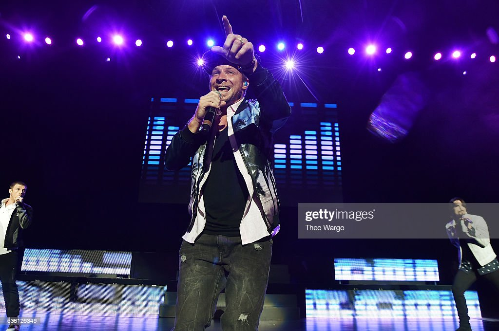 Brian Littrell of The Backstreet Boys performs onstage during 103.5 KTU's KTUphoria 2016 presented by Aruba, at Nikon at Jones Beach Theater on June 4, 2016 in Wantagh, NY.