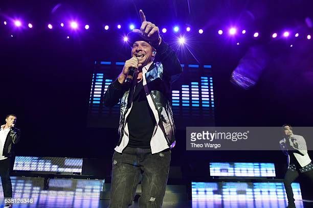 Brian Littrell of The Backstreet Boys performs onstage during 1035 KTU's KTUphoria 2016 presented by Aruba at Nikon at Jones Beach Theater on June 4...