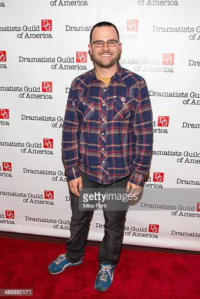 Brian Lowdermilk attends the 2014 AntiPiracy Awareness event at The Dramatists Guild of America on April 21 2014 in New York City