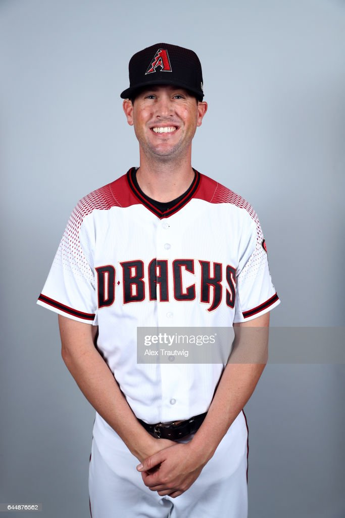 Brian Matusz #15 of the Arizona Diamondbacks poses during Photo Day on Tuesday, February 21, 2017 at Salt River Fields at Talking Stick in Scottsdale, Arizona.