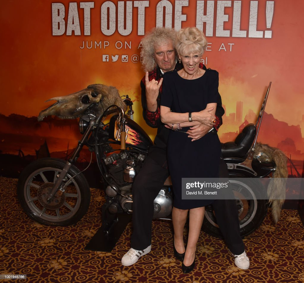 "Brian May & Anita Dobson Visit The West End Production Of ""Bat Out Of Hell: The Musical"""