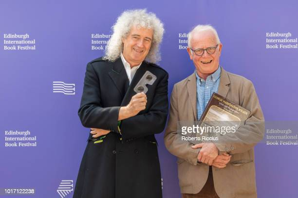 Brian May and Professor Roger Taylor at Edinburgh International Book Festival to launch new book George Washington Wilson published by The London...