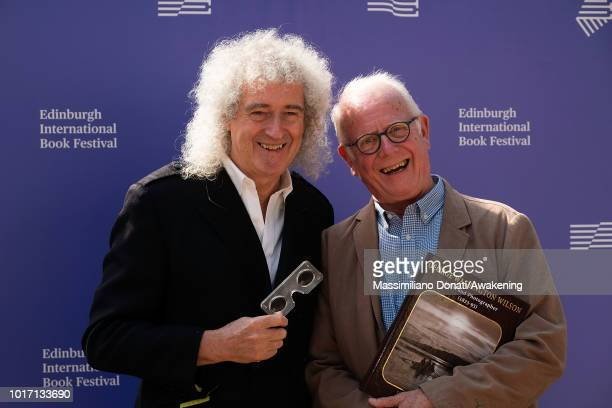 Brian May and Professor Roger Taylor at Edinburgh International Book Festival to launch new book George Washington Wilson, published by The London...