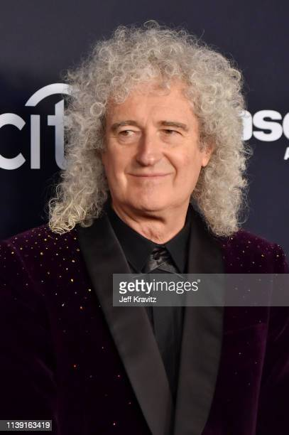 Brian May attends the 2019 Rock & Roll Hall Of Fame Induction Ceremony at Barclays Center on March 29, 2019 in New York City.