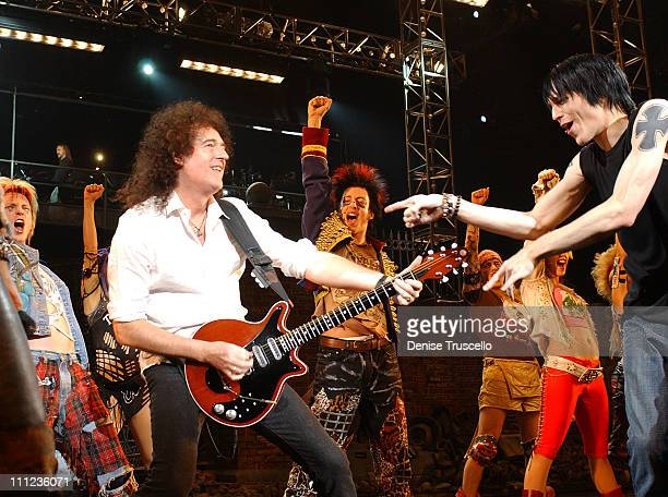 """Brian May of Queen and """"We Will Rock You"""" Las Vegas Cast"""