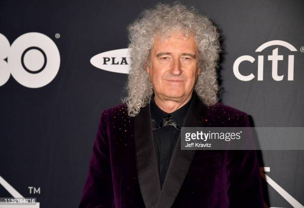 Brian May of Queen attends the 2019 Rock Roll Hall Of Fame Induction Ceremony at Barclays Center on March 29 2019 in New York City