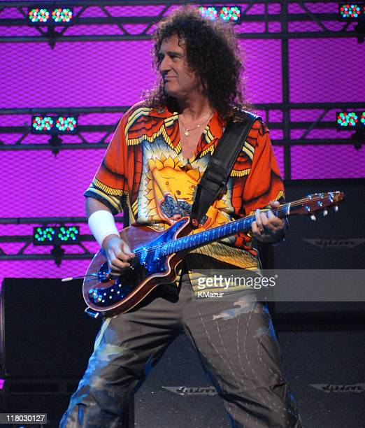 Brian May of Queen during 2006 VH1 Rock Honors Show at Mandalay Bay Hotel and Casino in Las Vegas Nevada United States