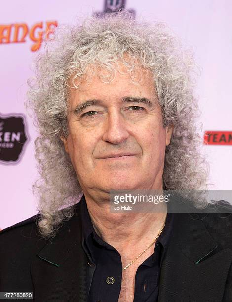 Brian May of Queen wins the Riff Lord Award at the Metal Hammer Golden God Awards at Indigo2 at The O2 Arena on June 15 2015 in London United Kingdom