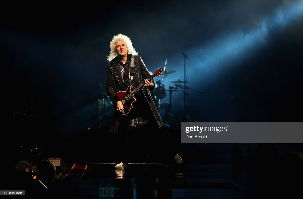 Queen + Adam Lambert - Sydney : News Photo