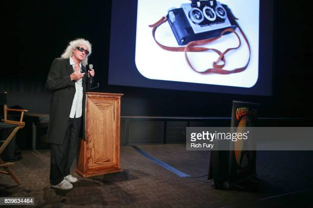 Brian May presents his new book 'Queen in 3D' at Disney Studios on August 25 2017 in Burbank California
