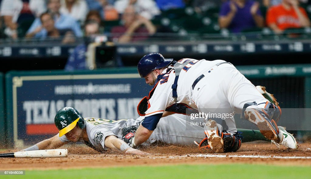 Oakland Athletics v Houston Astros : News Photo