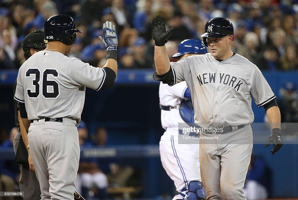 New York Yankees v Toronto Blue Jays : News Photo