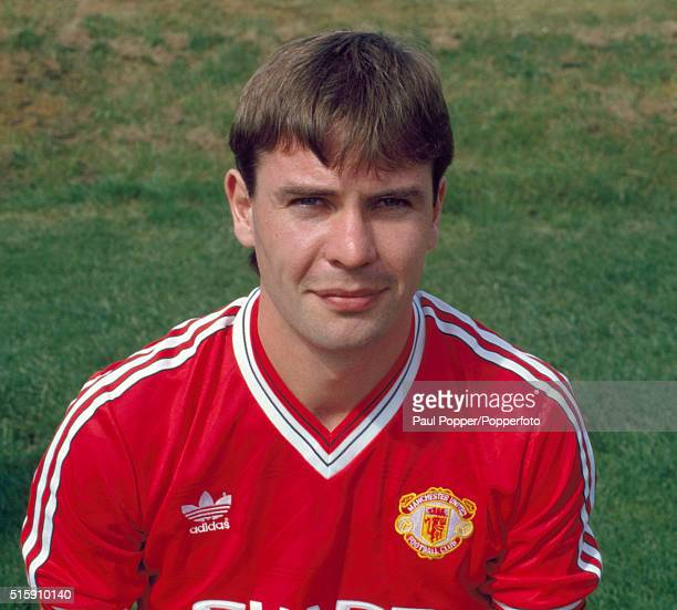 Brian McClair of Manchester United circa August 1987