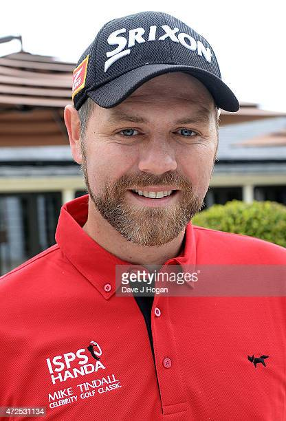 Brian McFadden attends the ISPS Handa Mike Tindall 3rd Annual Celebrity Golf Classic at The Grove Hotel on May 8 2015 in Hertford England