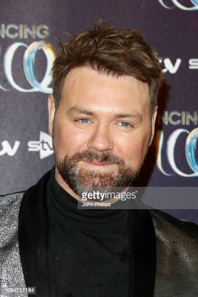 Brian McFadden during a photocall for the new series of Dancing On Ice at the Natural History Museum Ice Rink on December 18 2018 in London England
