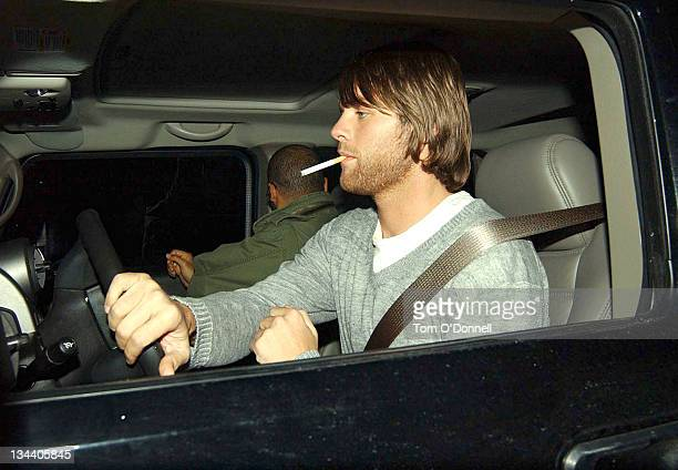 "Brian McFadden during Brian McFadden Arrives for ""The Late Late Show"" in Dublin - October 30, 2004 at RTE Studios in Dublin, Ireland."