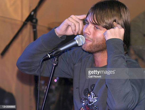 Brian McFadden during Bryan McFadden Performs at Life Cafe December 1 2004 at Life Cafe in Manchester United Kingdom
