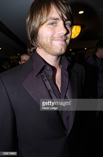 Brian McFadden during HMV Football Extravaganza 2005 at Grosvenor House Hotel in London Great Britain