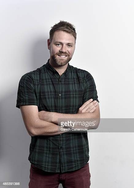 Brian McFadden is pictured at Heat Radio studios as he joins Heat Radio to host a brand new show every Saturday from 122pm on August 24 2015 in...
