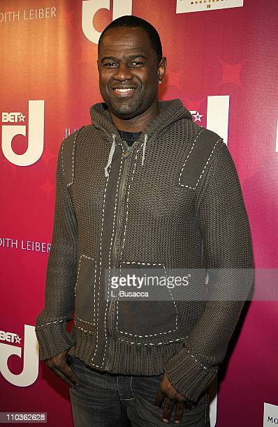 Brian Mcknight attends the In Store event with BET Network Honoring Lisa Ellis hosted by Judith Leiber at the Judith Leiber Store on December 15 2008...