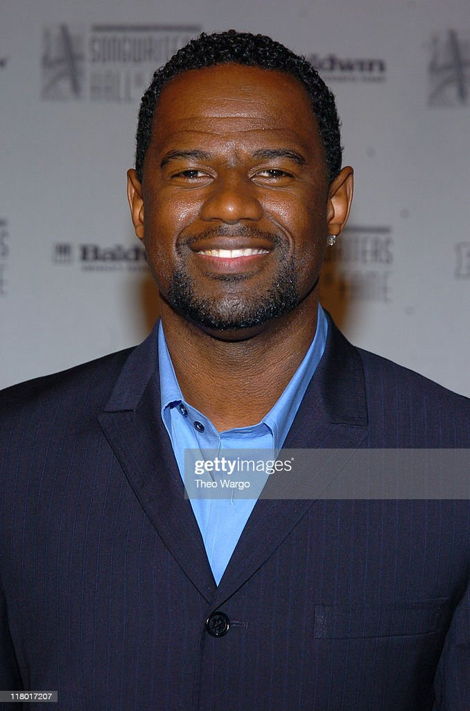 Brian McKnight during 35th Annual Songwriters Hall of Fame Awards Induction - Arrivals at Mariott Marquis Hotel in New York City, New York, United States.