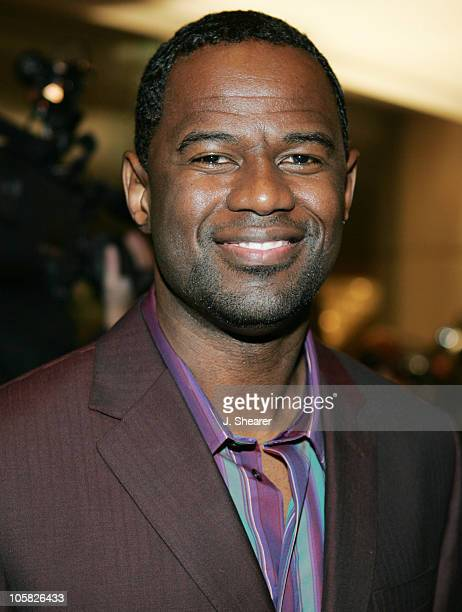 Brian McKnight during A Tribute to Ray Charles Hosted by Morehouse College and Bill Cosby Red Carpet at The Beverly Hilton in Beverly Hills...