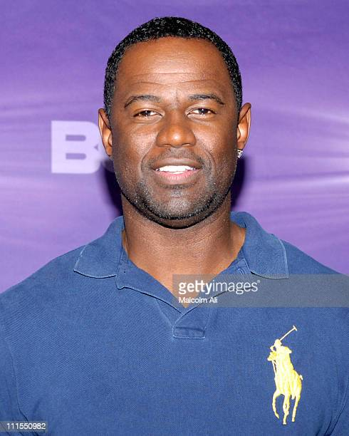 Brian McKnight during BET Awards 2007 Media Day at Shrine Auditorium in Los Angeles California United States