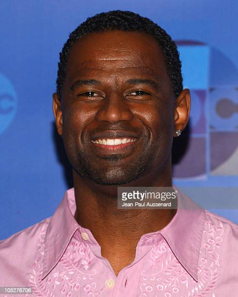 Brian McKnight during Motown 45 Anniversary Celebration Pressroom at Shrine Auditorium in Los Angeles California United States