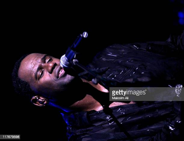 Brian McKnight during Shaquille O'Neal Hosts Pre-Season Party to Benefit the Lakers Youth Foundation at The New Avalon in Hollywood, California,...