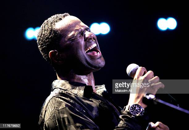 Brian McKnight during Shaquille O'Neal Hosts PreSeason Party to Benefit the Lakers Youth Foundation at The New Avalon in Hollywood California United...
