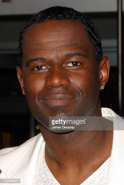 Brian McKnight during TJ Martell Foundation's 27th Annual Humanitarian Award Gala Show in New York City New York United States