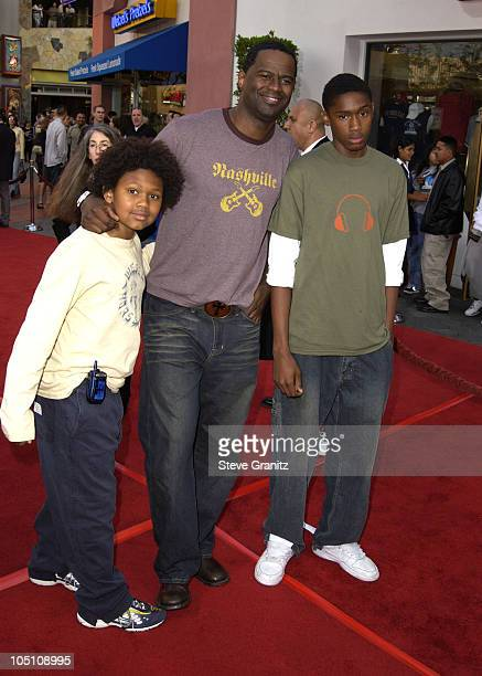 Brian McKnight Family during The World Premiere of Bruce Almighty at Universal Amphitheatre in Universal City California United States