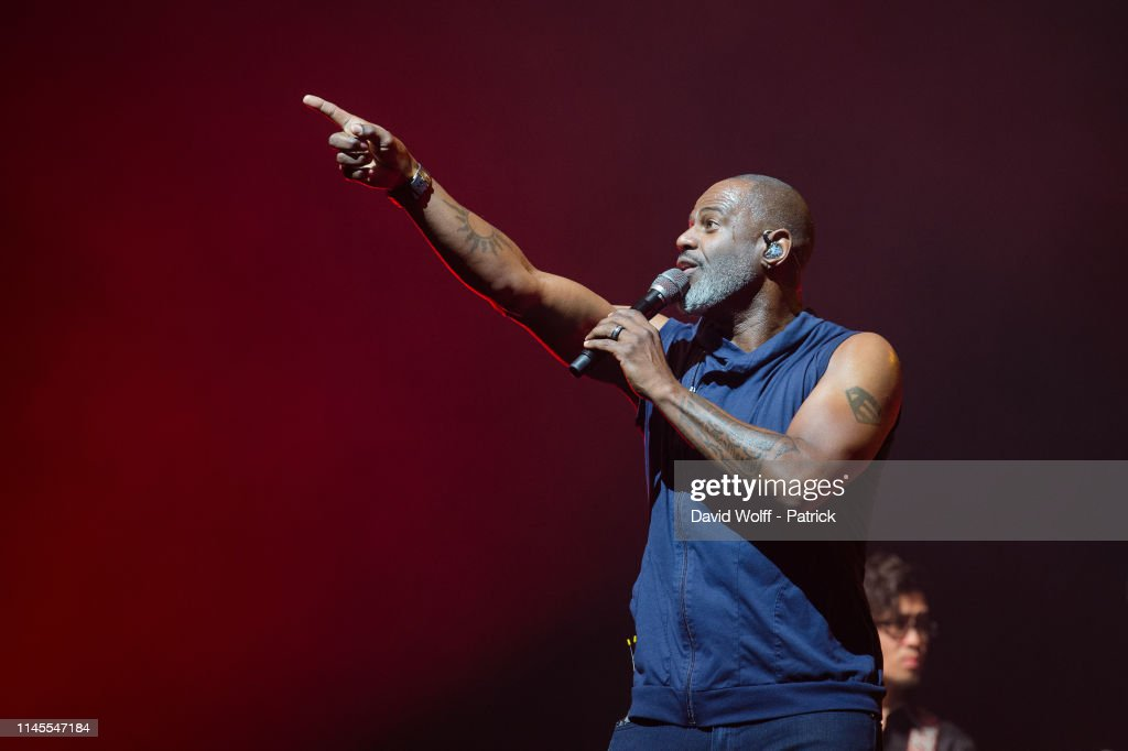 FRA: Brian McKnight Performs At L'Olympia In Paris